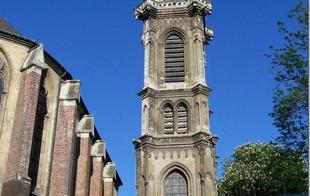 Eglise St Géry et beffroi - Valenciennes