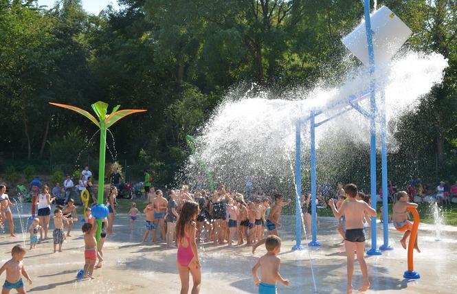 Jeux d'eau - Condé-sur-l'Escaut