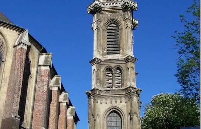 Eglise St Géry et beffroi - VALENCIENNES 1 - Valenciennes